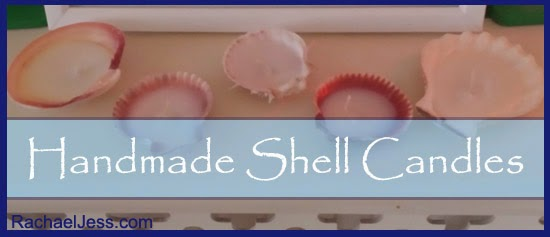Craft: Handmade Shell Candles