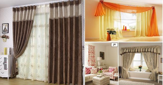 Bricolage e decora o diferentes tipos de cortinas - Diferentes tipos de cortinas ...