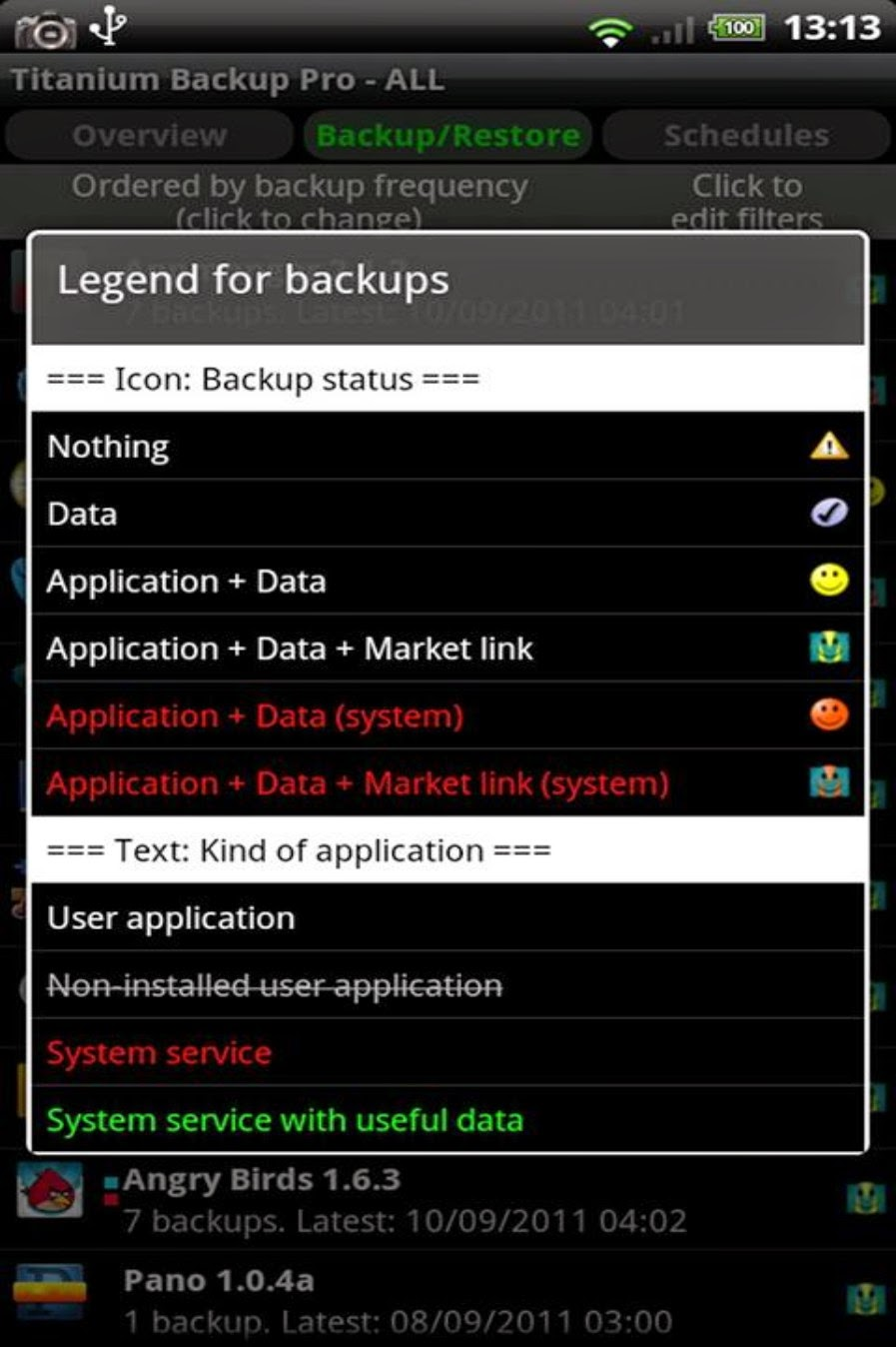 Titanium Backup Pro Android