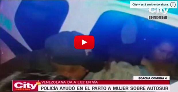 Refugiada venezolana dio a luz en medio de la autopista mientras escapaba de Venezuela