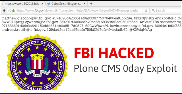 Breaking News: Website FBI Di Hack, Peretas Umbar Data Para Agen.