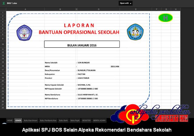 Aplikasi SPJ BOS Selain Alpeka Rekomendari Bendahara Sekolah