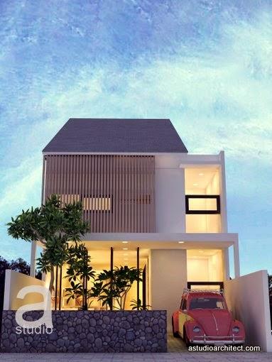 Rumah minimalis kesan terbuka