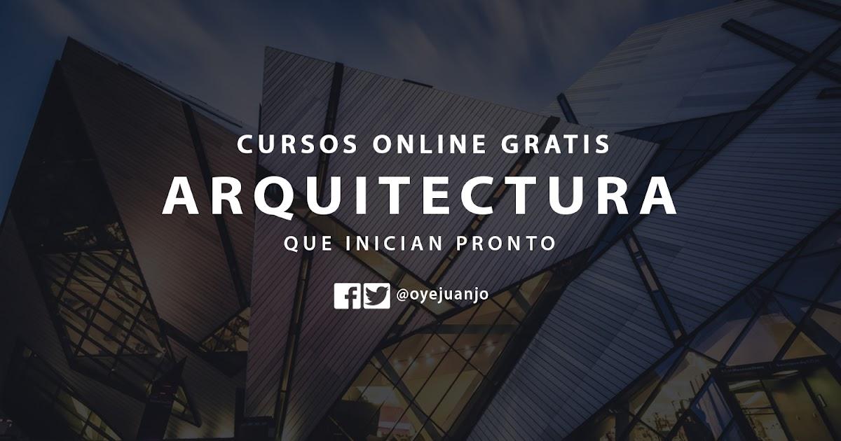 Conoce los cursos online gratis de arquitectura que for Cursos de arquitectura uni