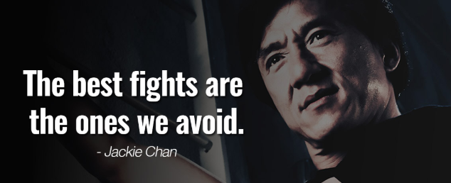 Jackie Chan Quote