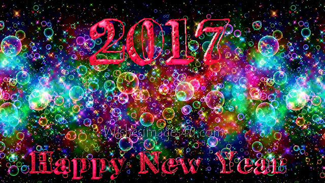 Happy New Year 2017 3D Pictures/Images Background Download For Desktop/PC