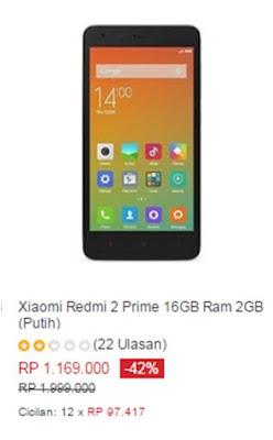 Xiaomi Redmi 2 Prime 16GB/2GB