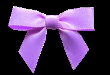 Laço de cetim lilás
