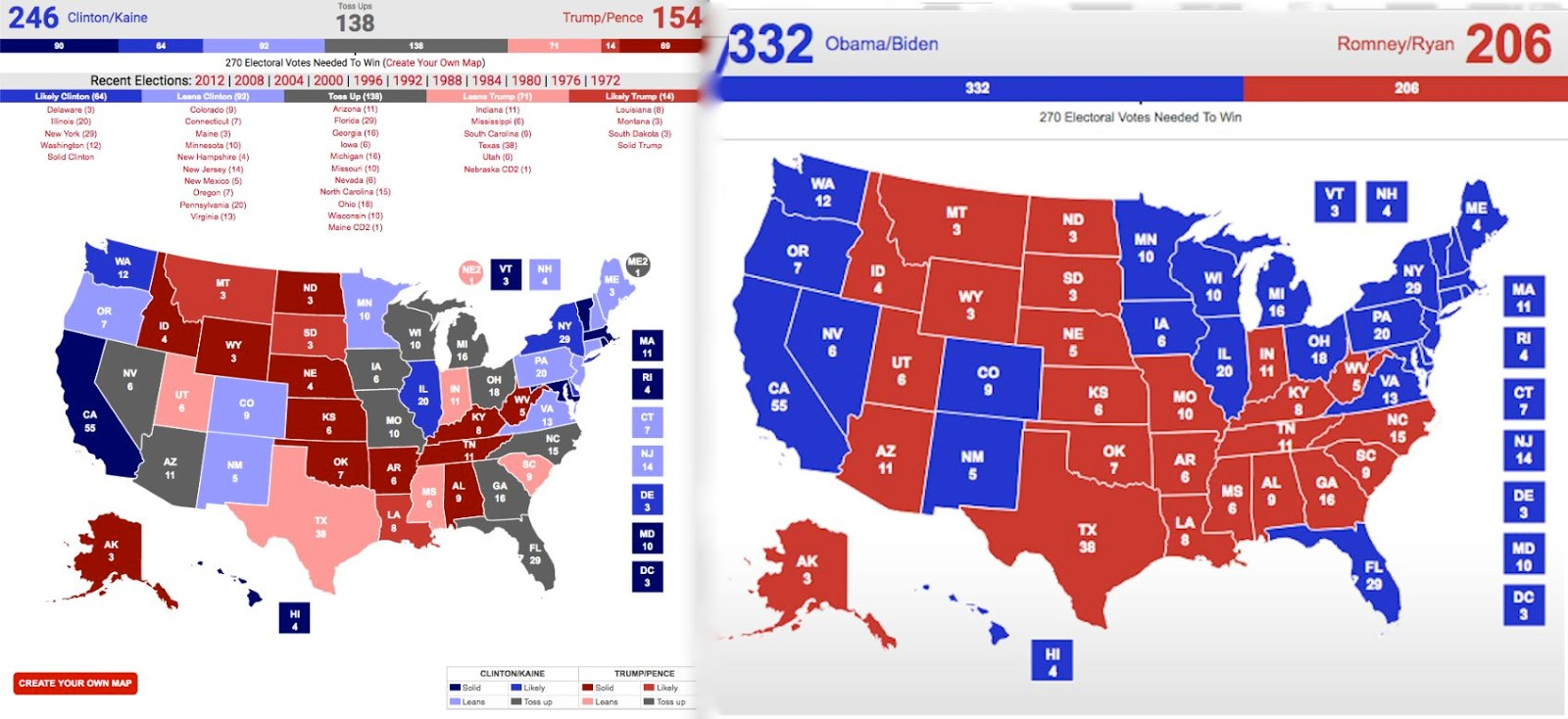 Suite Sports: It Ain\'t Over, But The Map Looks Bleak for Trump