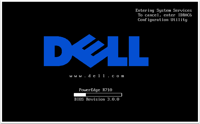 eye tee: Upgrading Dell PowerEdge R710 firmware without an