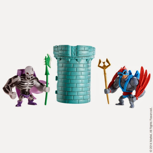 Masters of the Universe Minis 2 Pack #3 by Mattel - Scareglow & Stratos