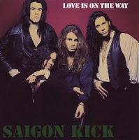 Love is on the way. Saigon Kick