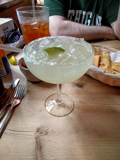 Margarita at Border Cafe in Harvard Square in Cambridge, Massachusetts
