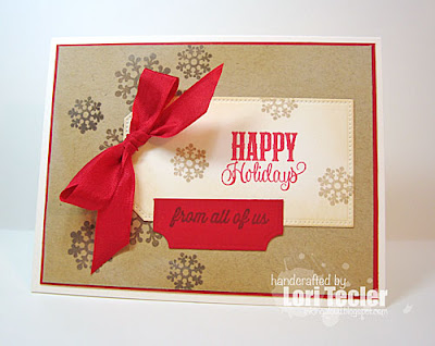 Happy Holidays from All of Us card-designed by Lori Tecler/Inking Aloud-stamps from Verve Stamps