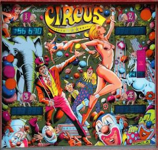 Gottlieb, 1980: Circus Pinball