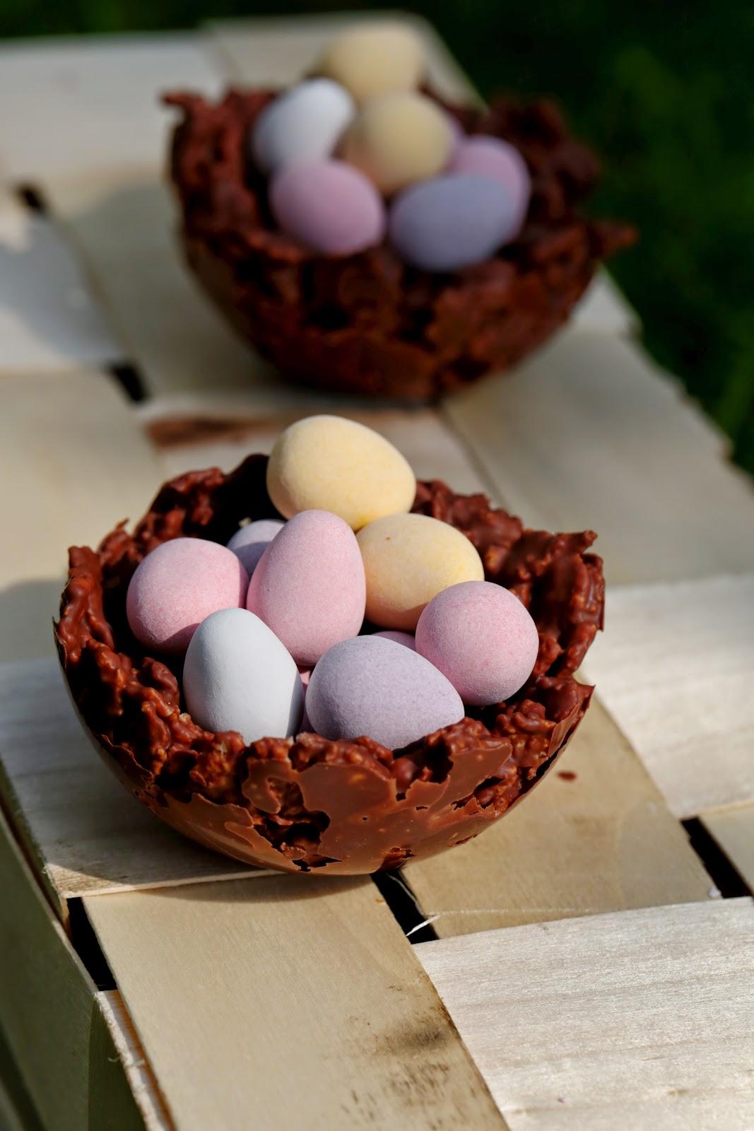 corn flakes ,facile , oeufs de Paques, chocolat