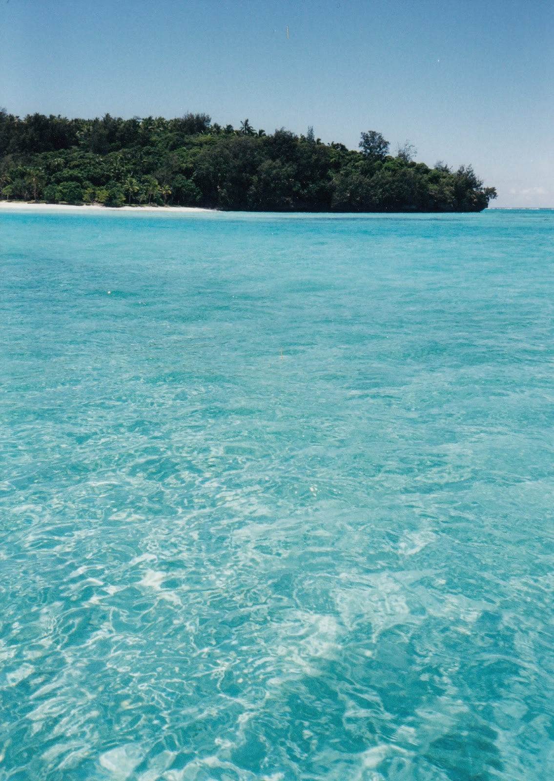 Tonga travel experiences include the most stunning blue of the Pacific Ocean