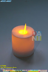 Lilin LED Flameless Besar