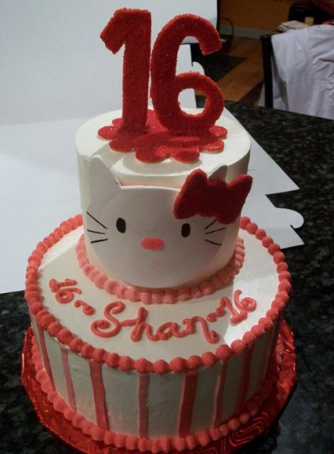 Sweet 16 Birthday Cake Birthday
