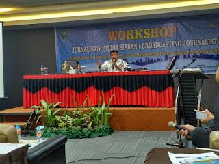 Workshop Jurnalistik Media Siaran