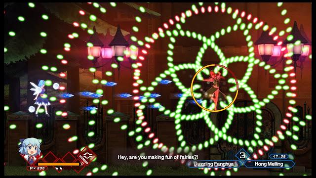 PS4 bullet hell