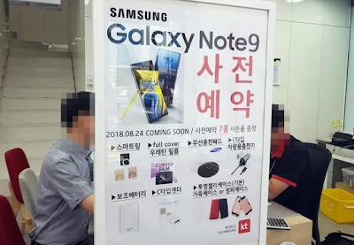 Inilah Tanggal rilis Samsung Galaxy Note 9