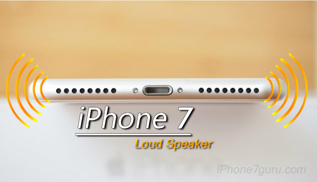 Speaker of iPhone 7 With Picture