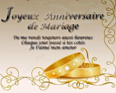 Carte d anniversaire de mariage 10 ans a imprimer gratuite