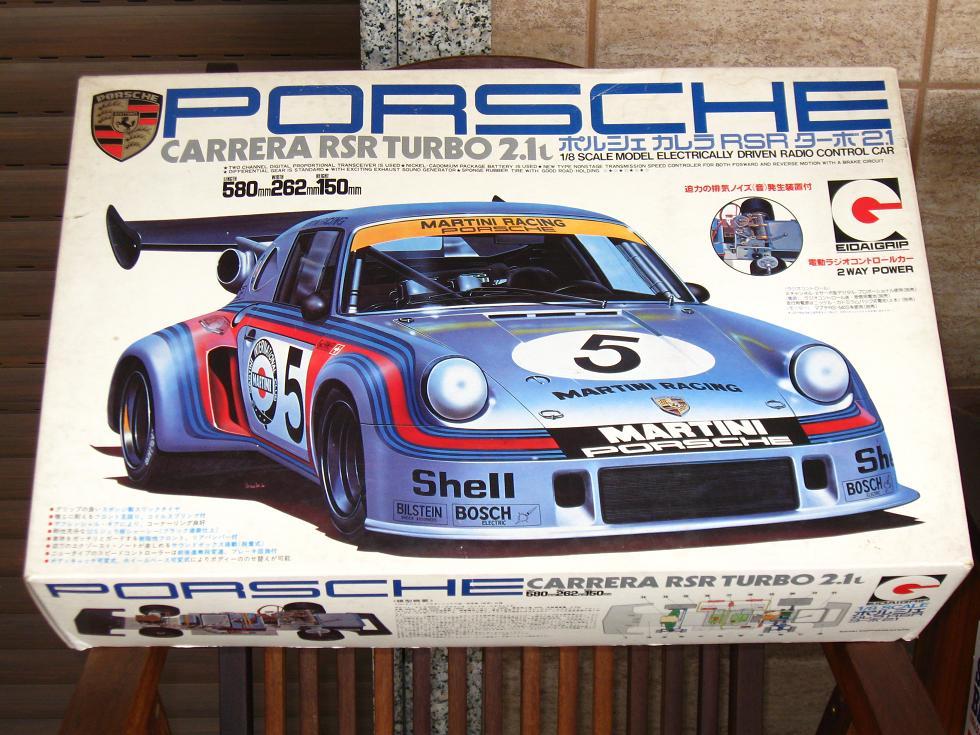 My Passions: Eidai (edaigrip) 1/8 Porsche turbo 2.1 RC car