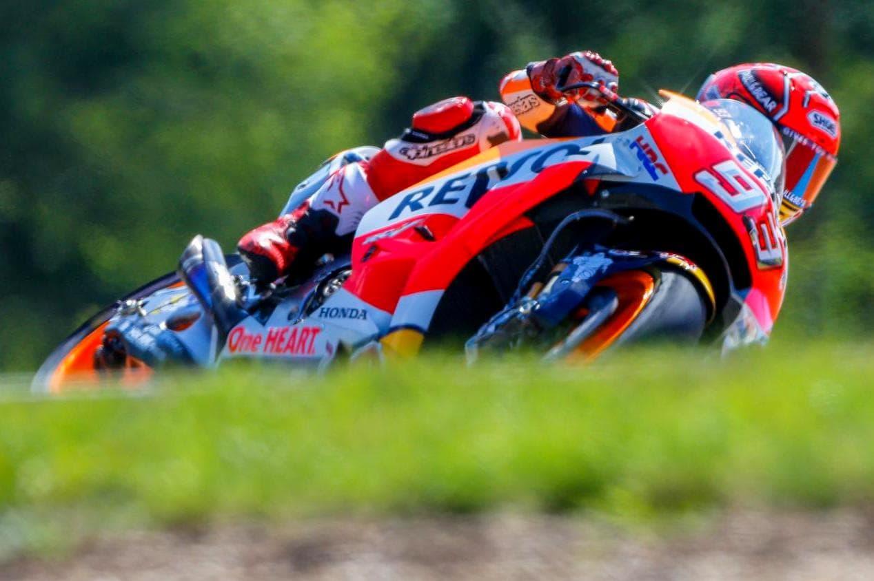 Kualifikasi MotoGP Brno 2017, Marquez tercepat disusul Rossi dan Pedrosa