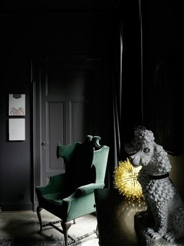 Dark Interiors: Macabre Charm in Grey Walls |Macabre Interiors