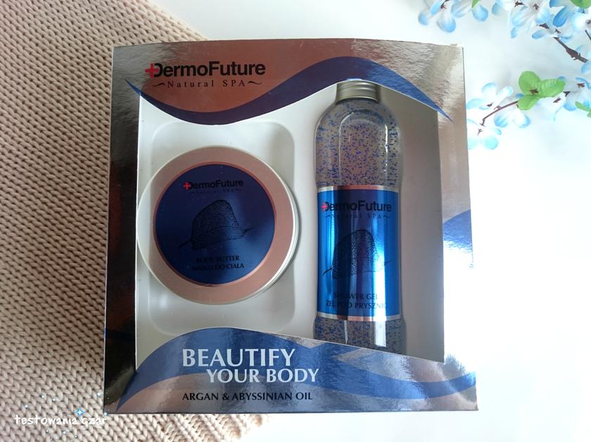 Zestaw Natural Spa Ocean Blue z olejem abisyńskim i arganowym