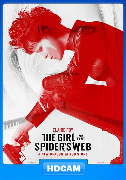 The.Girl.in.the.Spiders Web.2018.HDCAM.720p.Hindi.English.x264 | 480p 300MB | 100MB HEVC