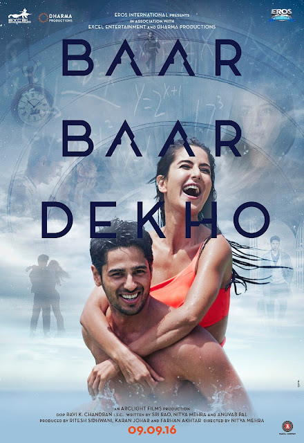 Baar Baar Dekho Movie Poster HD