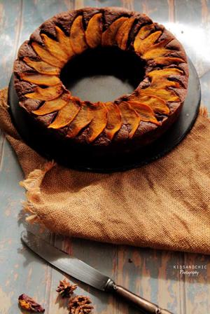 recetario-dulce-caqui-reto-disfruta-noviembre-bizcocho