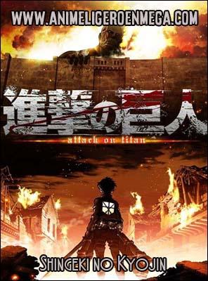 Shingeki no Kyojin: Todos los Capítulos (25/25) + OVA (03/03) [Mega - MediaFire - Google Drive] BD - HDL
