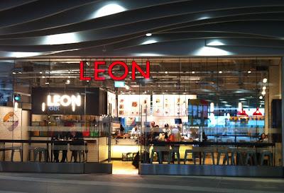 Leon fast food restaurant Birmingham