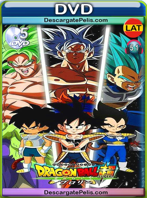 Dragon Ball Super: Broly (2018) DVD5 Latino – Ingles – Japones