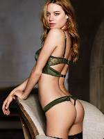 Camille Rowe sexy lingerie models victoria secret