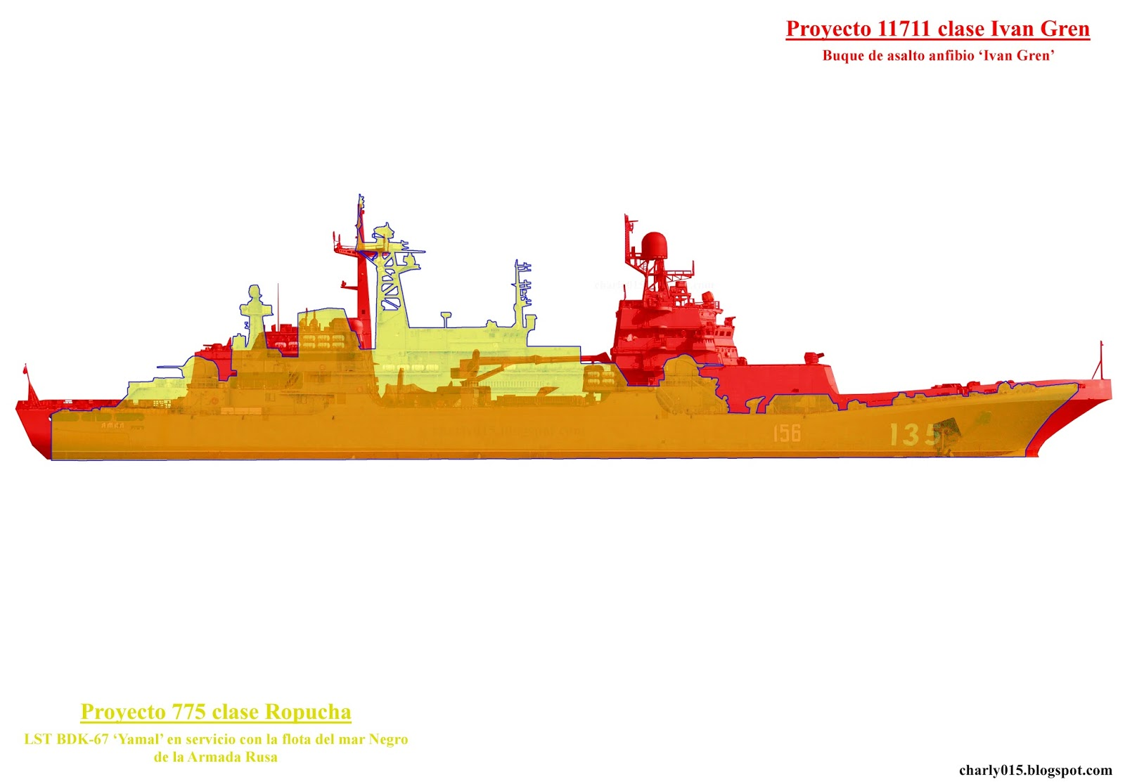 "Project 11711: ""Ivan Gren"" class - Page 19 11711%2Bvs%2B775%2Bperfiles%2Ba"