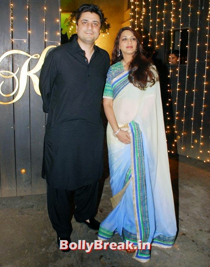 Sonali Bendre, Goldie Behl., Shilpa Shetty's Diwali Bash 2014 Photos