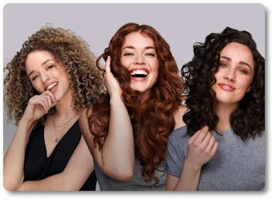 Hot air brush and hair types