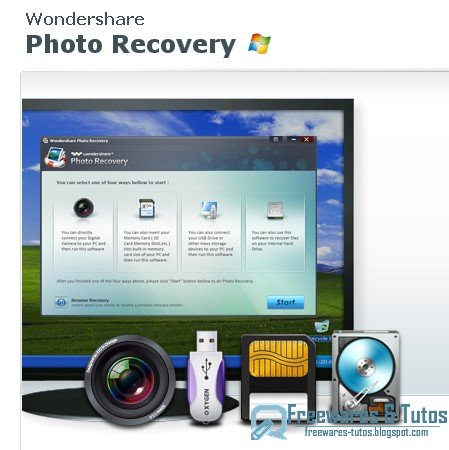 Concours : 20 licences de Wondershare Photo Recovery 3.0 à gagner !