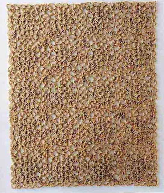 Patrón #1682: Carpetita a Ganchillo