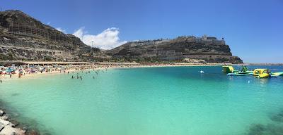 Amadores den beste stranden sørvest på Gran Canaria