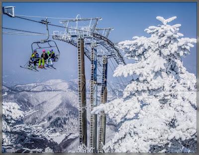 Percutian Ke PyeongChang Korea Selatan Menggunakan PyeongChang KORAIL PASS