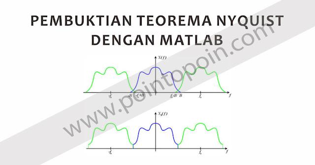 Pembuktian Teorema Nyquist Dengan MATLAB