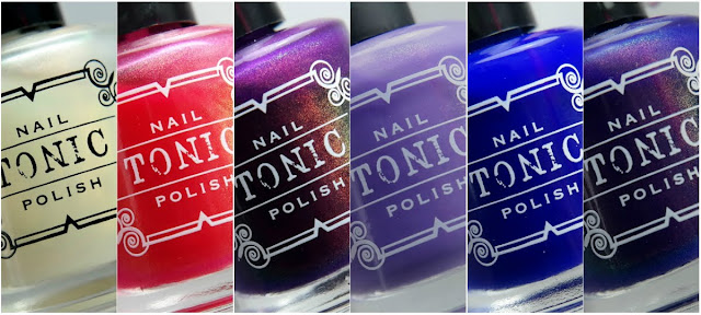 Tonic Polish Unicorn Pee Collection Swatches