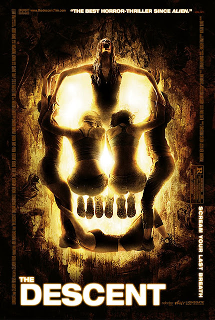 The Descent 2005 horror movie poster