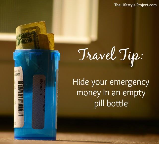 travel tip: hide your emergency money